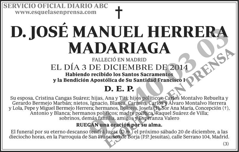 José Manuel Herrera Madariaga